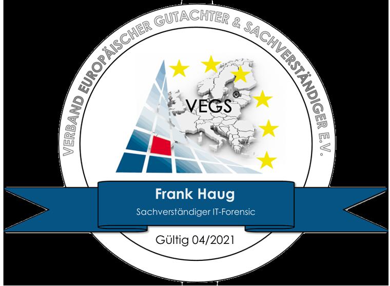 Sachverständiger der IT-Forensic - Frank Haug