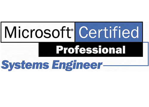 Microsoft Certified - Systems Engineer